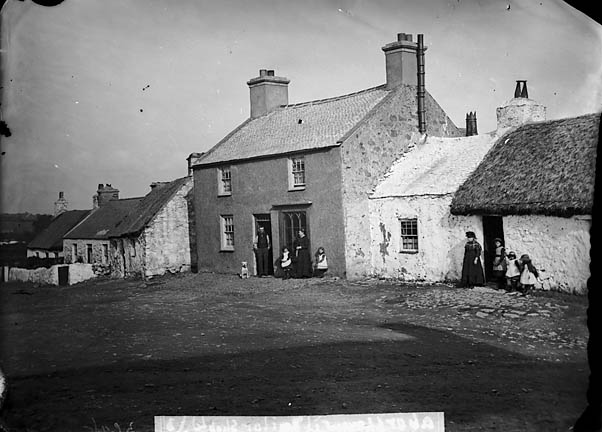 [Tailor's shop, Aberffro]