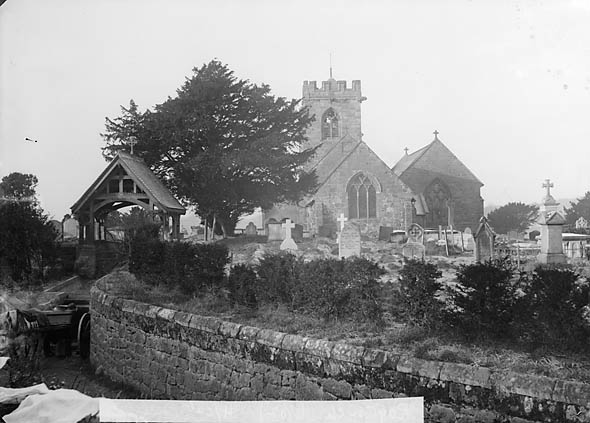 [The church, Ryton (Salop)]