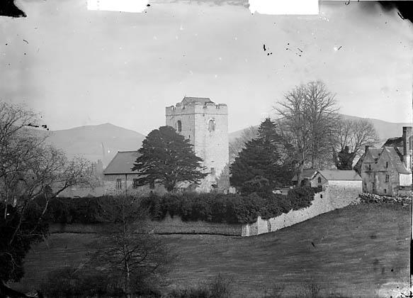 [The church, (Llanfair Dyffryn Clwyd?)]