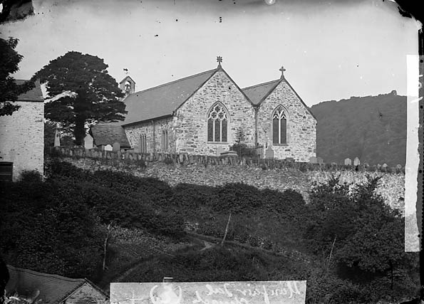 [The church, Llanfair Talhaearn]