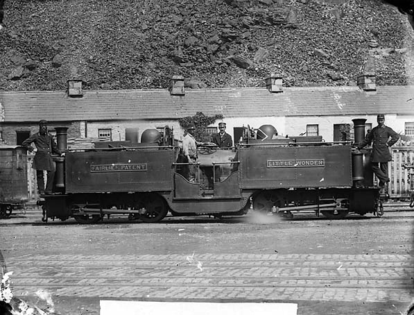 [Little Wonder engine, Ffestiniog railway]