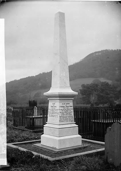 [Memorial of Revd Joseph Thomas (1814-89), Carno]