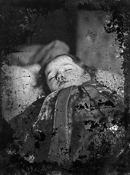 [A dead child]