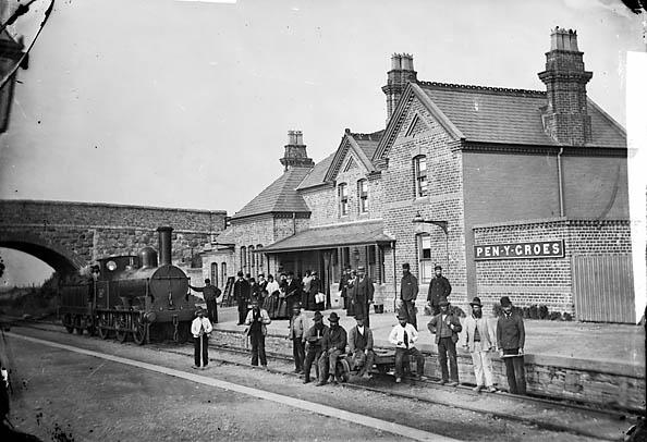 [The railway station, Penygroes, Gwynedd]