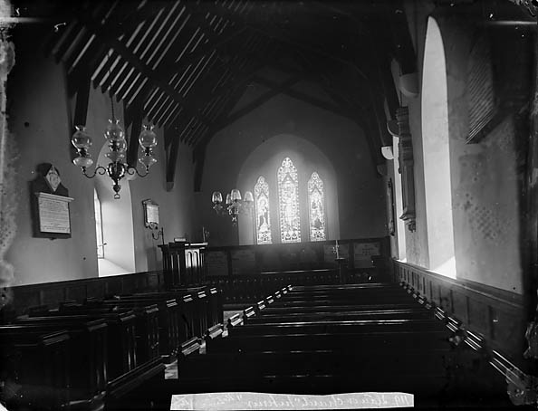 Y [Interior of the church, Llannor]