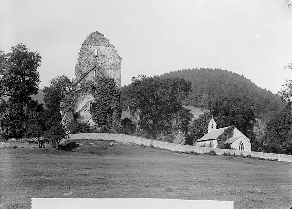 [The church and ruined abbey, Talyllychau]