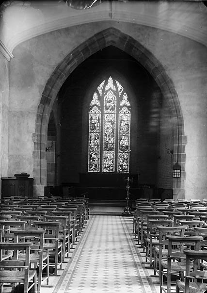 [The east window, Aberdyfi church]