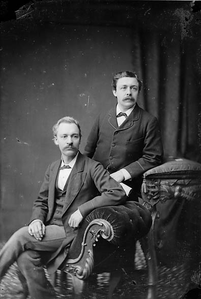 [Lewis William Lewis (Llew Llwyfo) and James Savage]