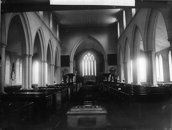 Y [Interior of the church, Pontesbury (Salop)]