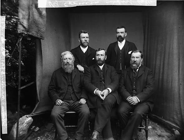 [Calvinistic Methodist elders, Llanfair Caereinion]