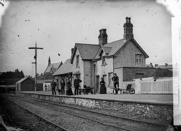 [The railway station, Penrhyndeudraeth]