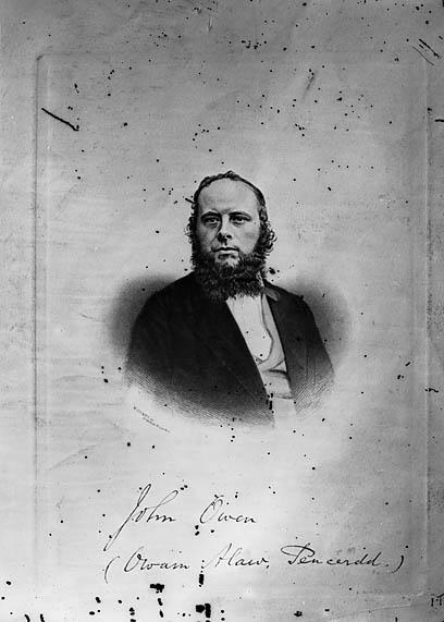 [John Owen (Owain Alaw, 1821-83) (print)]