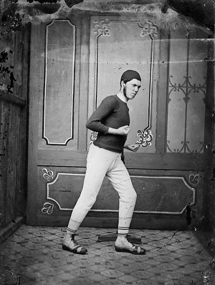 [A boxer]