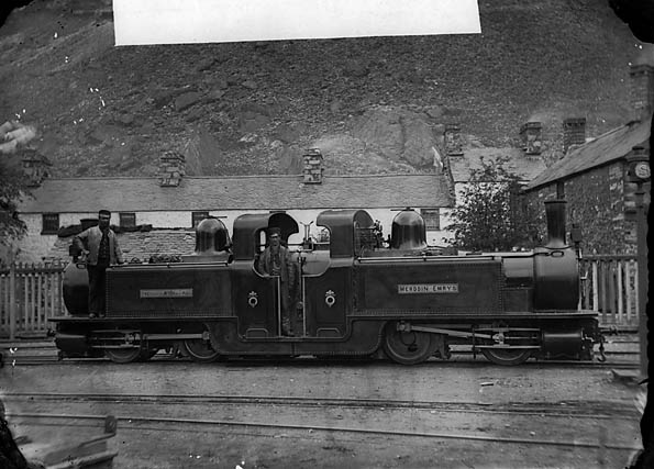 Merddin Emrys locomotive, Ffestiniog railway
