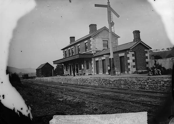 [The railway station, Gwyddelwern]