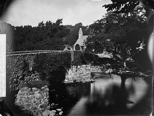 [The bridge and church, Llanystumdwy]