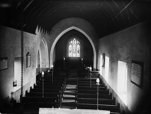 [The interior of the church, Bodedern]
