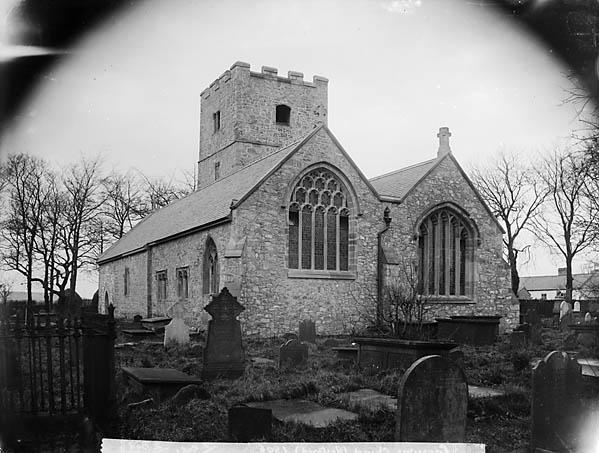 [The restored church, Caerwys (1896)]