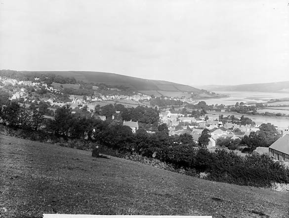 [A view of St Dogmaels from Plas Newydd]