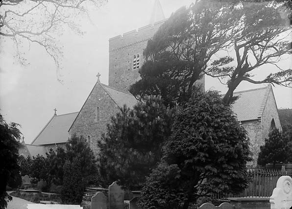 [The church, Llanbadarn Fawr (Cer)]