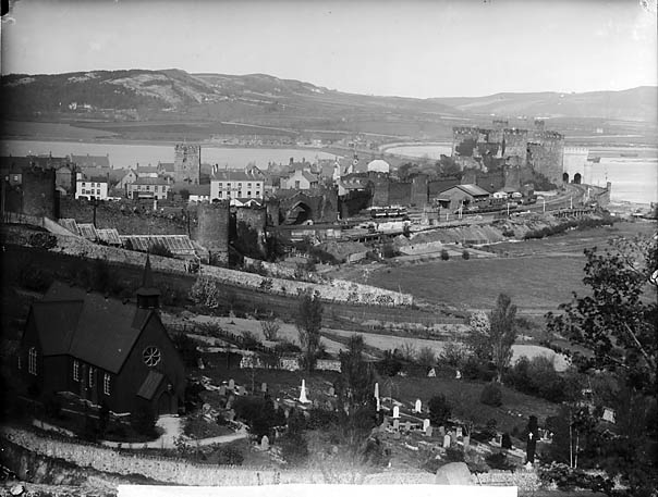 [A view of Conwy from Bryn-corach]