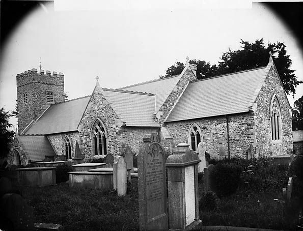 [The church, Llangadog]