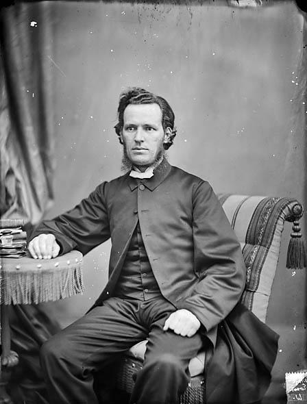 [Revd John Hugh Evans (Cynfaen, 1833-86)]
