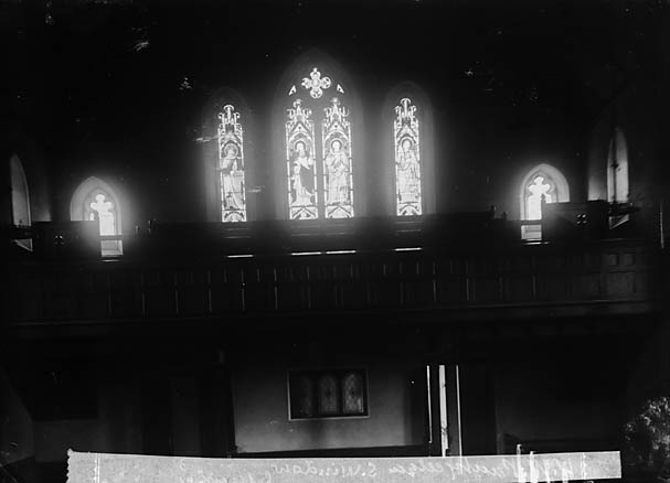 [Window in the William Williams memorial chapel, Llanymddyfri]
