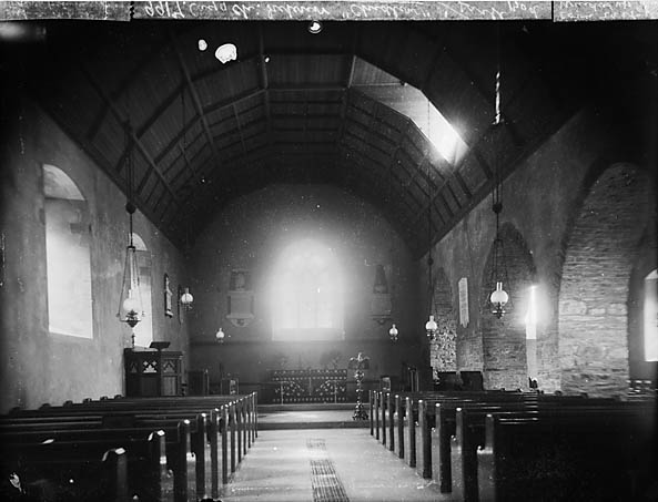[The interior of the church, Cynwyl Gaeo]