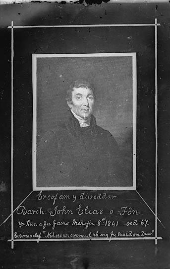 Er cof am y diweddar Barch John Elias o Fon