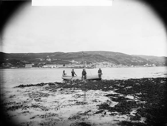 [A view of Aberdyfi from Penrhyn]