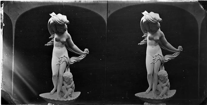 [A statue (stereograph)]