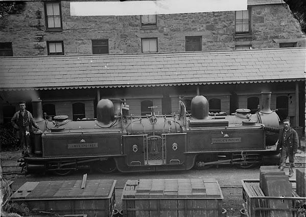 James Spooner locomotive engine, Ffestiniog railway