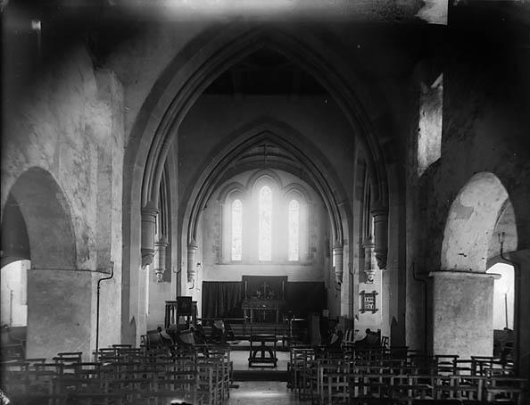 [The interior of the church, Tywyn]