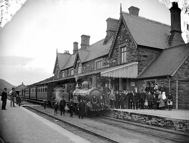 [The railway station, Machynlleth]