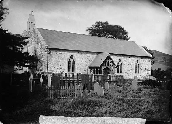 [The church, Llansannan]
