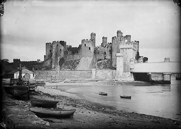 [Conwy castle]