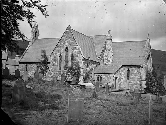 [The church, Penmachno]