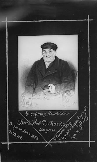 Er cof am y diweddar Barch Thomas Richards, Abergwaen