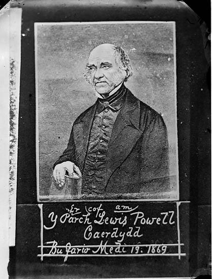 [Er cof am y Parch Lewis Powell Caerdydd bu farw Medi 19 1869]