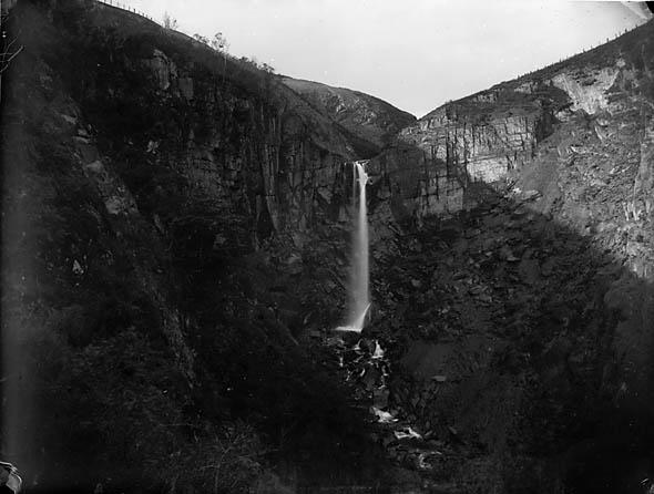 [Waterfalls near Llanbryn-mair]