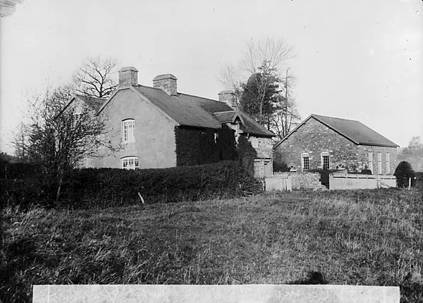 [Revd Joseph Thomas' (1814-89) house and CM chapel, Carno]