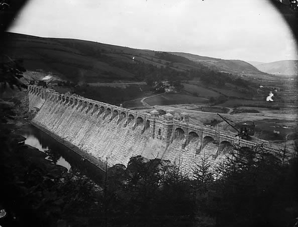 [Building the dam, Llanwddyn]