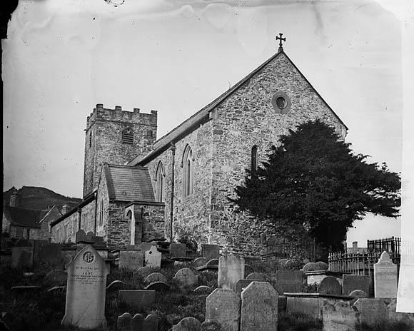 [The church, Corwen]