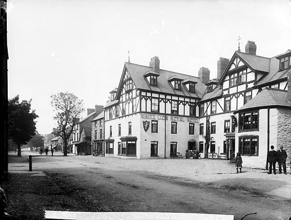 [The White Lion Royal Hotel, Y Bala]