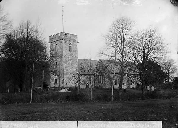 [The church, Meifod]