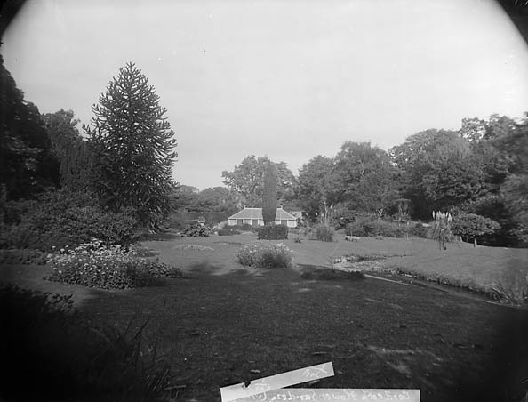 [The flower garden at Plas Coed-coch, Betws-yn-Rhos]
