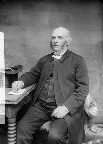 [Revd Josiah Jones, Machynlleth (1830-1915) (Cong)]