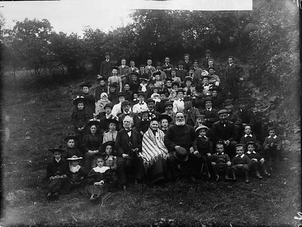 [Tan-y-fron Chapel Sunday School, near Llansannan]