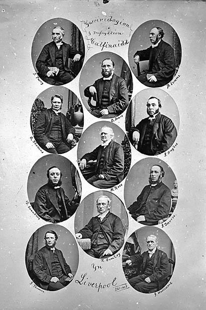 Gweinidogion y Trefnyddion Calfinaidd yn Liverpool (1867)
